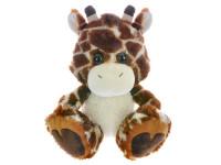 Žirafa plyšová 33 cm sedící