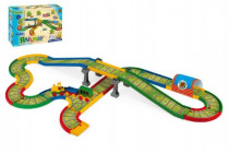 Dráha Kid Cars - Železnice s městem 4,1m Wader