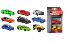 Autíčka kovová 3 ks Street Cars - mix variant či barev