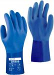 Rukavice OR656 gumové modré vel. 9/L Rosteto - 1 pár