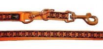 Vodítko nylon Krazy oranžové Hunter 2 m