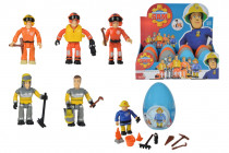 Požárník Sam figurka s přísl. II ve vajíčku - mix variant či barev
