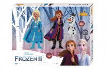 Zažehlovací korálky plast 4000ks + 2 podložky Ledové království II/Frozen II