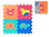Pěnové puzzle Zvířata 30x30cm