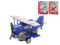 Letadlo natahovací 16 cm - mix barev