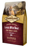 Carnilove Cat Adult Lamb & Wild Boar Grain Free Sterilised 2 kg