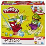 Play-Doh kelímky ve tvaru hrdinů marvel - mix variant či barev