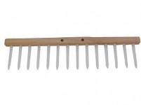 hřeben dřevěný 14 kolíků plastových, d.48cm