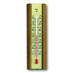 teploměr pokojový 14cm dřev.+ Al 12.1014