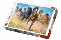 Puzzle Stádo koní 2000 dílků 96x68cm
