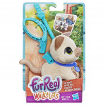 Hasbro Fur Real Friends Walkalots malá kočka