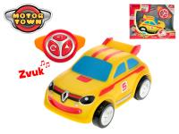 R/C Renault Twingo žluté 18 cm 2,4 GHz na baterie 4 zvuky