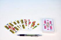 Mariáš dvouhlavý společenská hra karty v plastové krabičce 7x11cm - VÝPRODEJ