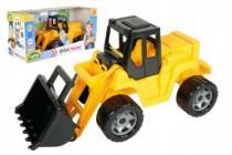 Nakladač žlutočerný Giga Trucks plast 62cm