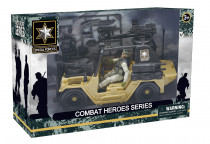 Combat Hero - voják s SUV - VÝPRODEJ