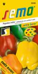 Semo Paprika zeleninová sladká F1 - směs barev F1 15s - série Paleta barev