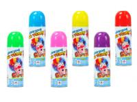 Barva na vlasy ve spreji smývatelná 140 ml - mix barev
