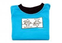 Dětské tričko Mayaka s dlouhým rukávem Swimming/Diving - tyrkysové