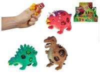 Dinosaurus strečový 9 cm - mix variant či barev