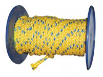 lano PPV bez duše 10mm barevné pletené (100m)