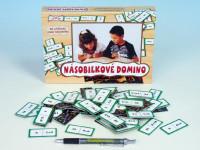 Násobilkové domino společenská hra