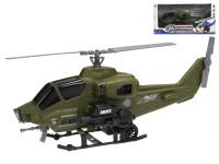 Helikoptéra vojenská 36 cm na setrvačník