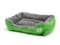 Pelech pro psy a kočky čtyřhranný, zelený, Domestico