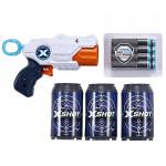 X-SHOT - Excel - MK pistole 3 plechovky a 8 nábojů