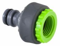 Adapter na kohoutek 1/2 a 3/4 STALCO GARDEN vnitřní závit