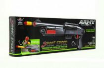 Pistole/puška na pěnové náboje plast 56cm