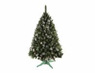 Stromek umělý vánoční se šiškami + stojan 180cm