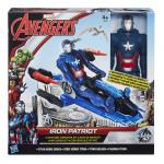 Hasbro Avengers akční figurka s novými vozy - mix variant či barev