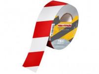 páska výstražná 75mmx500m ČRV-BÍ