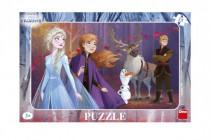 Puzzle deskové Ledové království II/Frozen II 29,5x19cm 15 dílků