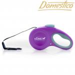 Domestico Samonavíjecí vodítko Easy Lock 5m/20kg, fialové