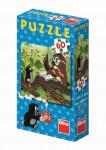 Puzzle 60 dílků Jak Krtek uzdravil myšku - mix variant či barev