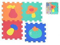 Pěnové puzzle Ovoce Zelenina 30x30cm - mix variant či barev
