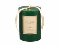 Svíčka GLASS VÁLEC vánoční d10x13cm
