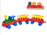 Vláček + 2 vagóny 65 cm