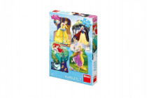 Puzzle Disney princezny 4x54 dílků 13x19cm