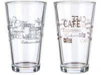 sklenice 455ml CAFE II - mix variant či barev