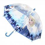 Dětský manuální deštník Ledové království průsvitný