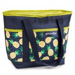 Spokey ACAPULCO Termo taška malá, vzor - ananas, 39 x 15 x 27 cm - VÝPRODEJ