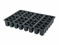 Sadbovač MULTI PL plastový černý 4x4cm 48ks