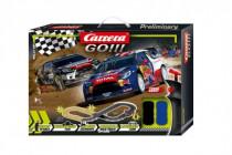 Autodráha Carrera GO!!! 62496 Rally up! 3,6m + 2 auta