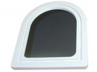 zrcadlo PORTÁL půlkulaté 37,5x28,5cm (malé) - mix barev