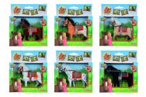 Kůň Beauty Pferde, 11 cm - mix variant či barev