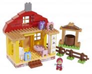 PlayBIG BLOXX Máša a medvěd Mášin dům