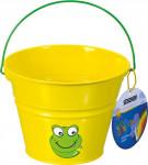 Dětský kyblík kovový žlutý Stocker