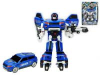 Auto/robot policejní 23 cm - mix barev